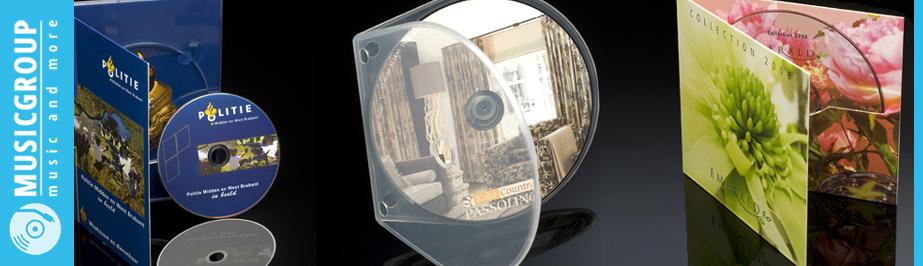 CD-DVD-verpakkingen